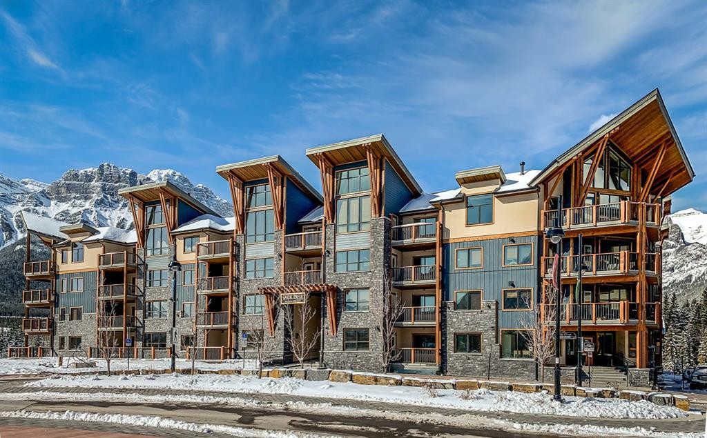 107,   1105 Spring Creek Drive Canmore AB T1W 0M6