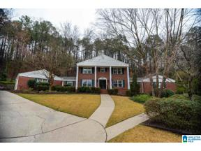 Property for sale at 1520 Hays Circle, Vestavia Hills, Alabama 35216