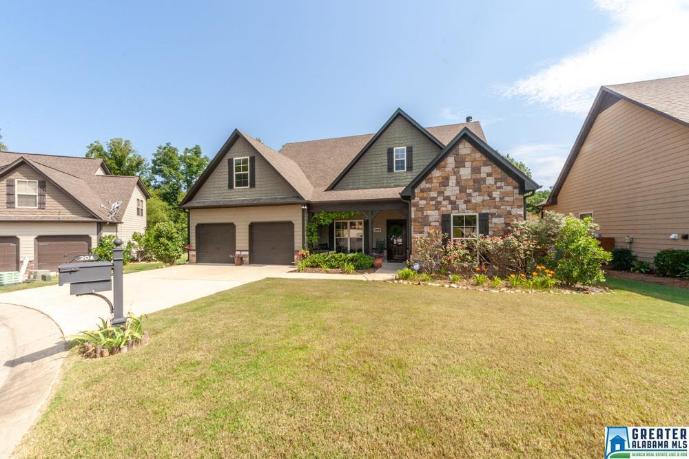 Photo of home for sale at 204 Perthshire Cove, Pelham AL