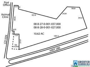 Property for sale at 0 Hwy 280, Westover,  Alabama 35147