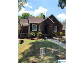 Property for sale at 1607 7th Ave W, Birmingham,  Alabama 35208