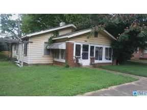 Property for sale at 1330 Park Ave, Tarrant,  Alabama 35217
