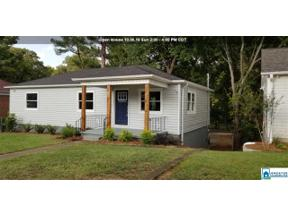 Property for sale at 1617 27th St N, Birmingham,  Alabama 35234