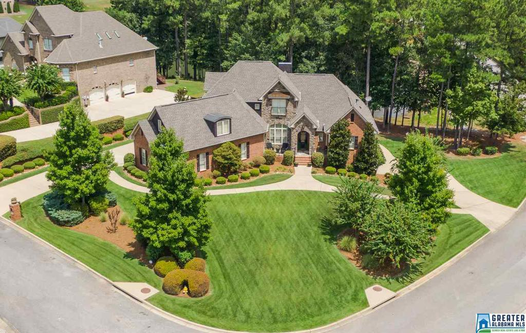 Photo of home for sale at 100 Kilberry Way, Pelham AL