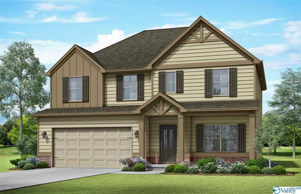 Photo of home for sale at 606 Southfield Lane, Huntsville AL