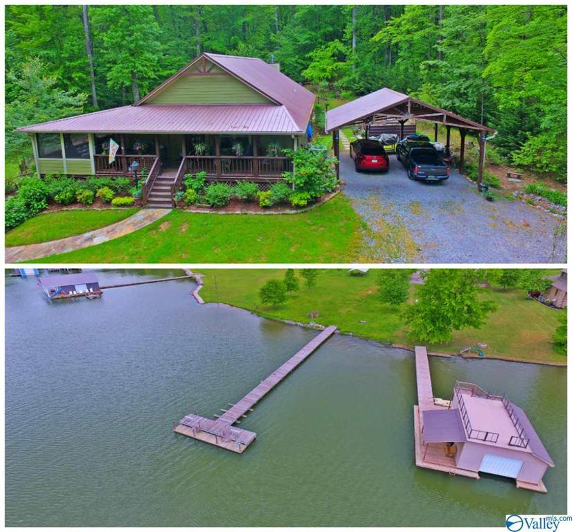Photo of home for sale at 28 Aspen Lane, Scottsboro AL