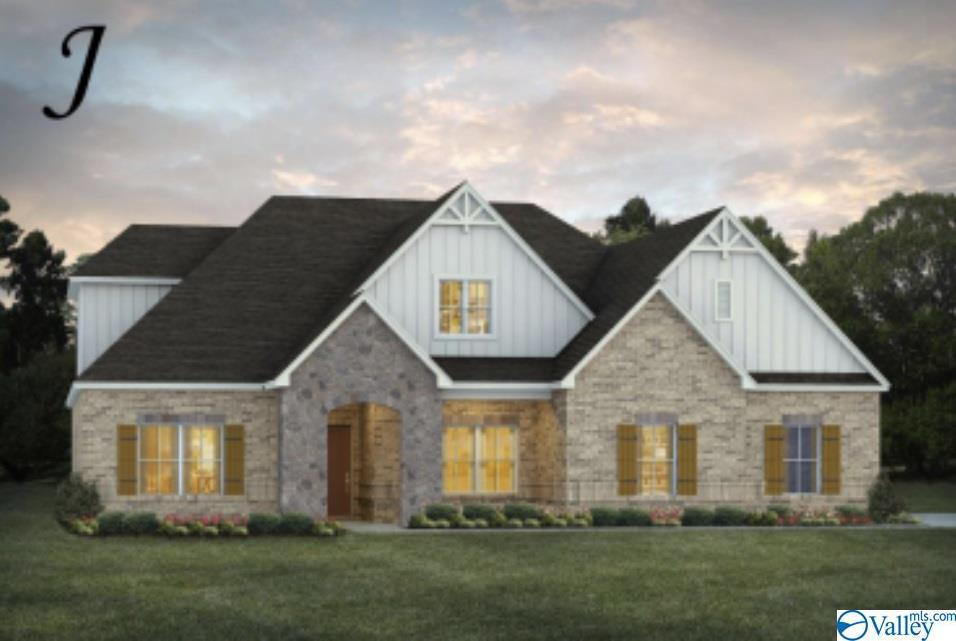 Photo of home for sale at 100 Tuckaway Lane, Meridianville AL