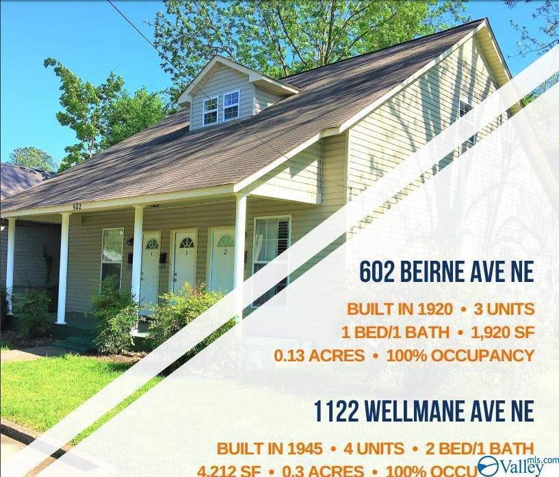 Photo of home for sale at 602 Beirne Avenue, Huntsville AL
