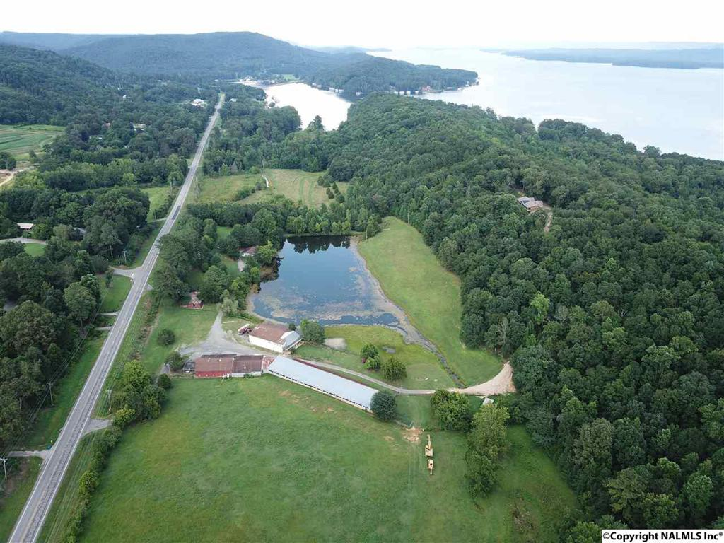 Photo of home for sale at 3210 Scottsboro Hwy 79, Guntersville AL