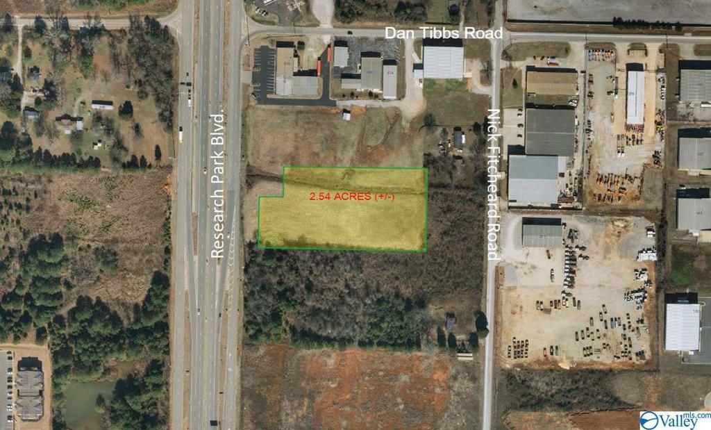 Photo of home for sale at 0 Research Park Blvd, Huntsville AL