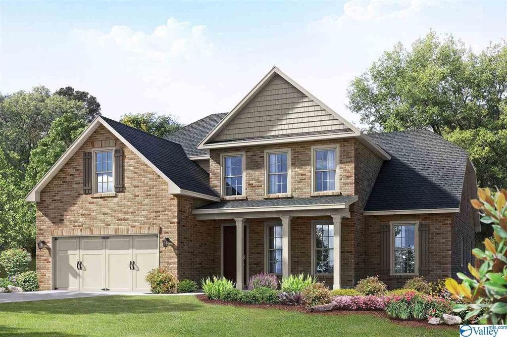 Photo of home for sale at 104 Cove Brook Drive, Meridianville AL