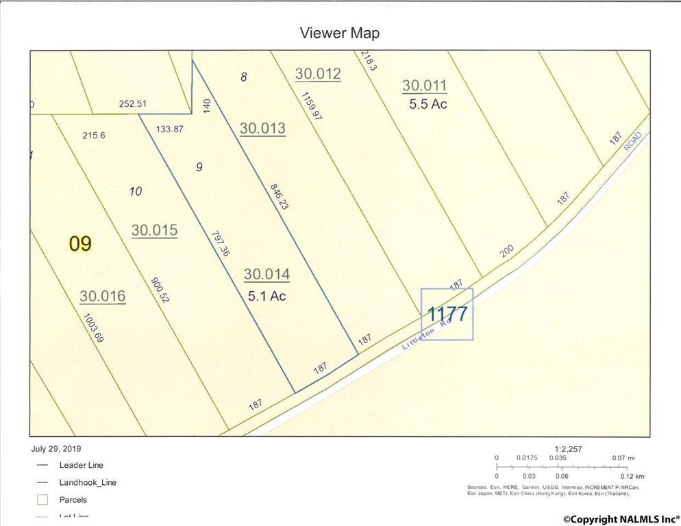 Photo of home for sale at 0 Littleton Cutoff, Attalla AL