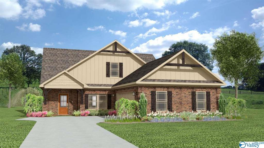 Photo of home for sale at 184 Wilcot Road, Meridianville AL
