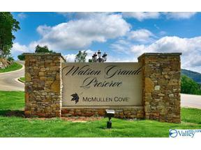 Property for sale at Lot 17 & 18 WATSON GRANDE WAY, Owens Cross Roads,  Alabama 35763