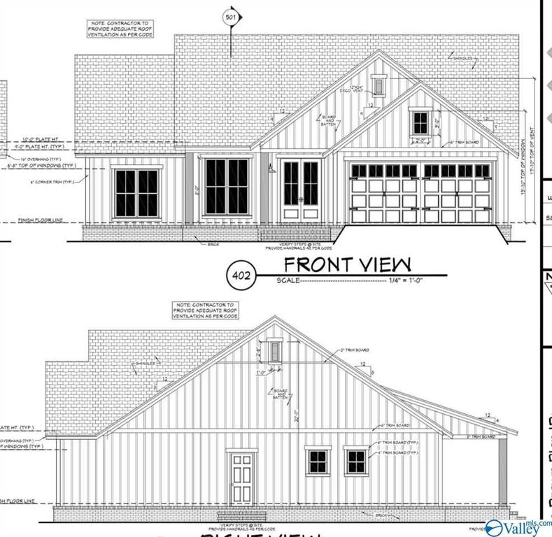 Photo of home for sale at 1228 Anderson Ridge Road, Grant AL