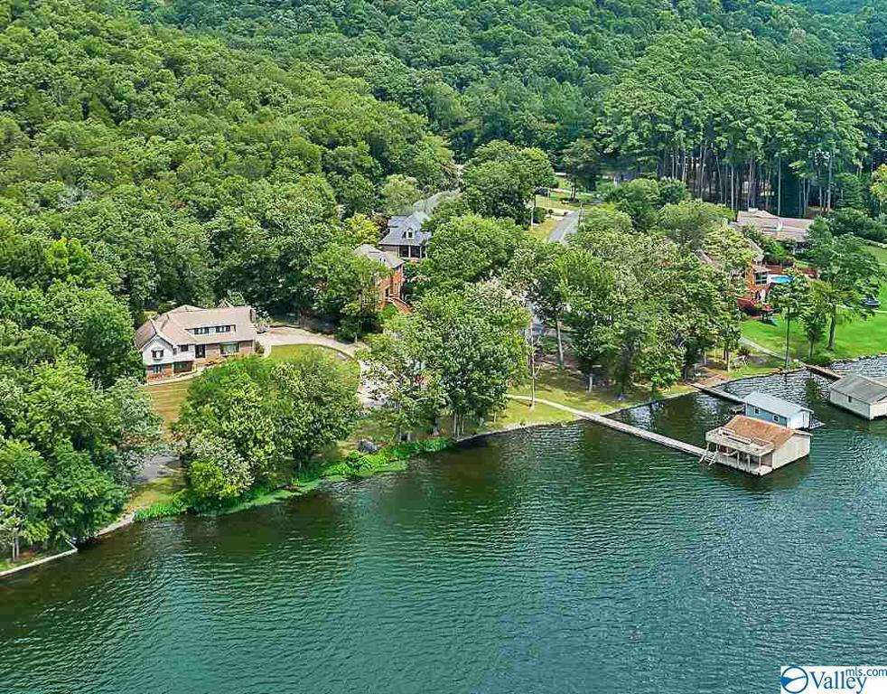 Photo of home for sale at 2401 Wyeth Drive, Guntersville AL
