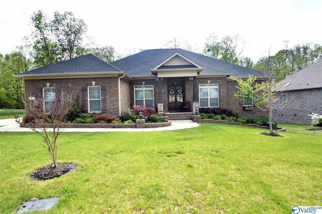 Photo of home for sale at 7 Natures Ridge Way SE, Huntsville AL
