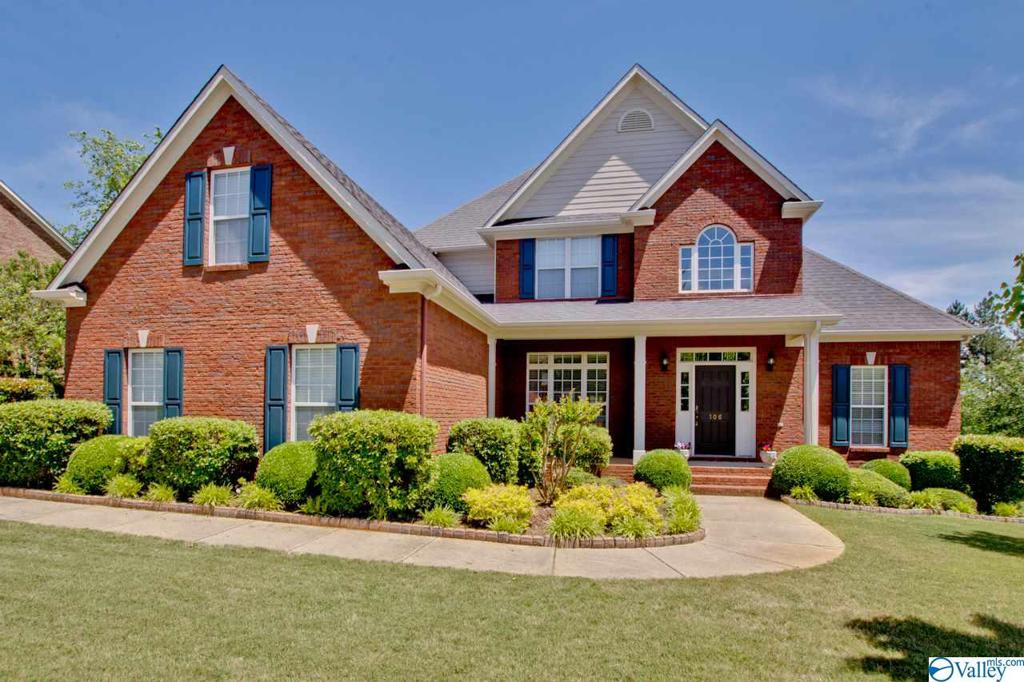 Photo of home for sale at 106 Brickstone Place, Madison AL
