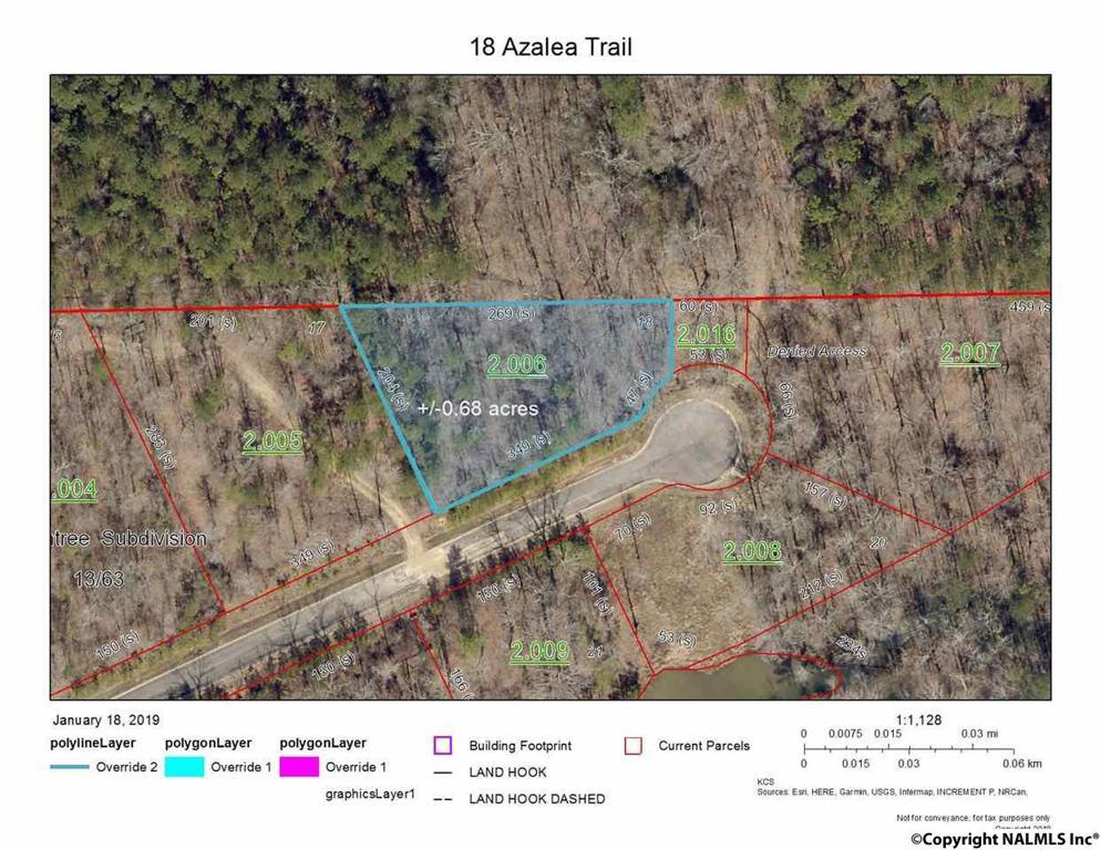 Photo of home for sale at 18 Azalea Trail, Centre AL