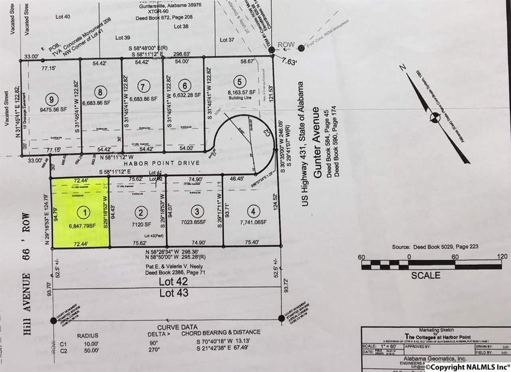Photo of home for sale at Harbor Pointe, Guntersville AL