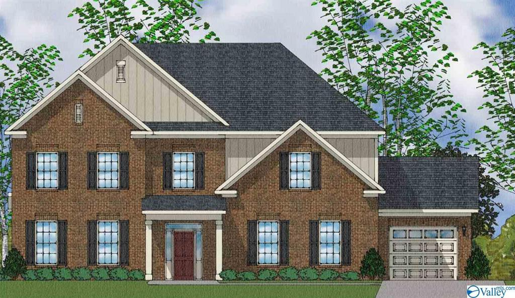 Photo of home for sale at 4517 Gresham Drive, Owens Cross Roads AL