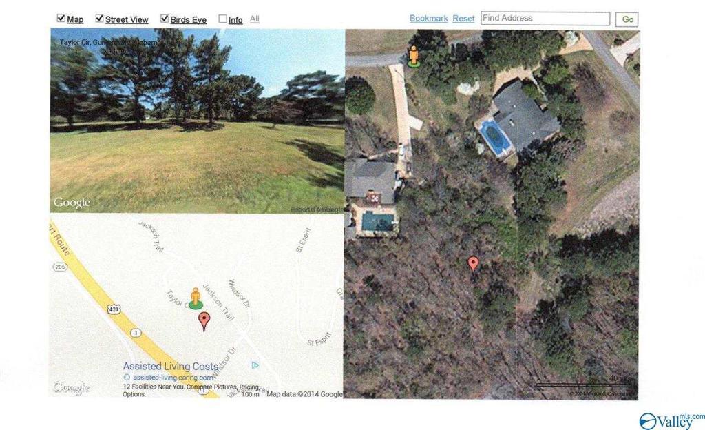 Photo of home for sale at 0 Smith Drive, Guntersville AL