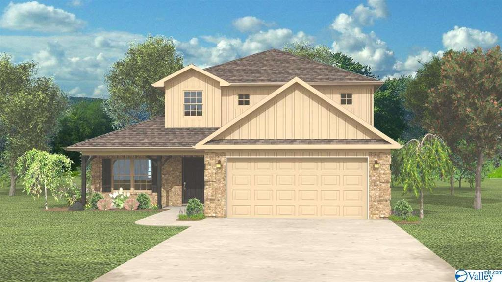 Photo of home for sale at 121 Heritage Way Drive, Toney AL