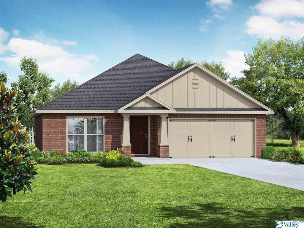 Photo of home for sale at 129 Paul Drive, Brownsboro AL