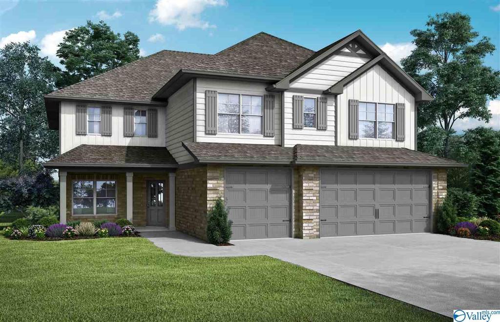 Photo of home for sale at 603 Southfield Lane, Huntsville AL