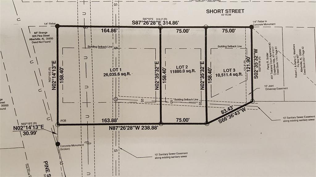 Photo of home for sale at Short Street, Albertville AL
