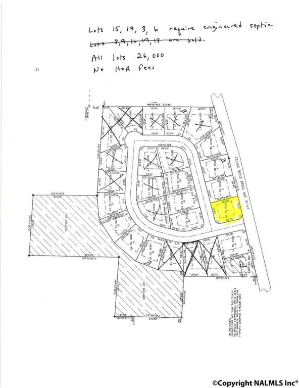 Photo of home for sale at Lot 1 Legacy Trace, Southside AL