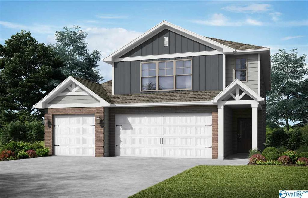 Photo of home for sale at 602 Southfield Lane, Huntsville AL
