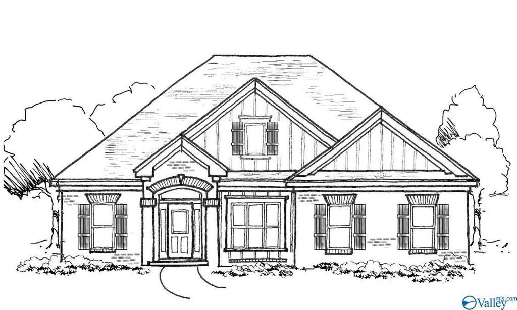 Photo of home for sale at 605 Walt Campbell Road, Hazel Green AL