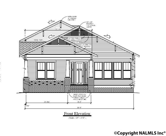 Photo of home for sale at 106 Hillcrest Avenue, Huntsville AL