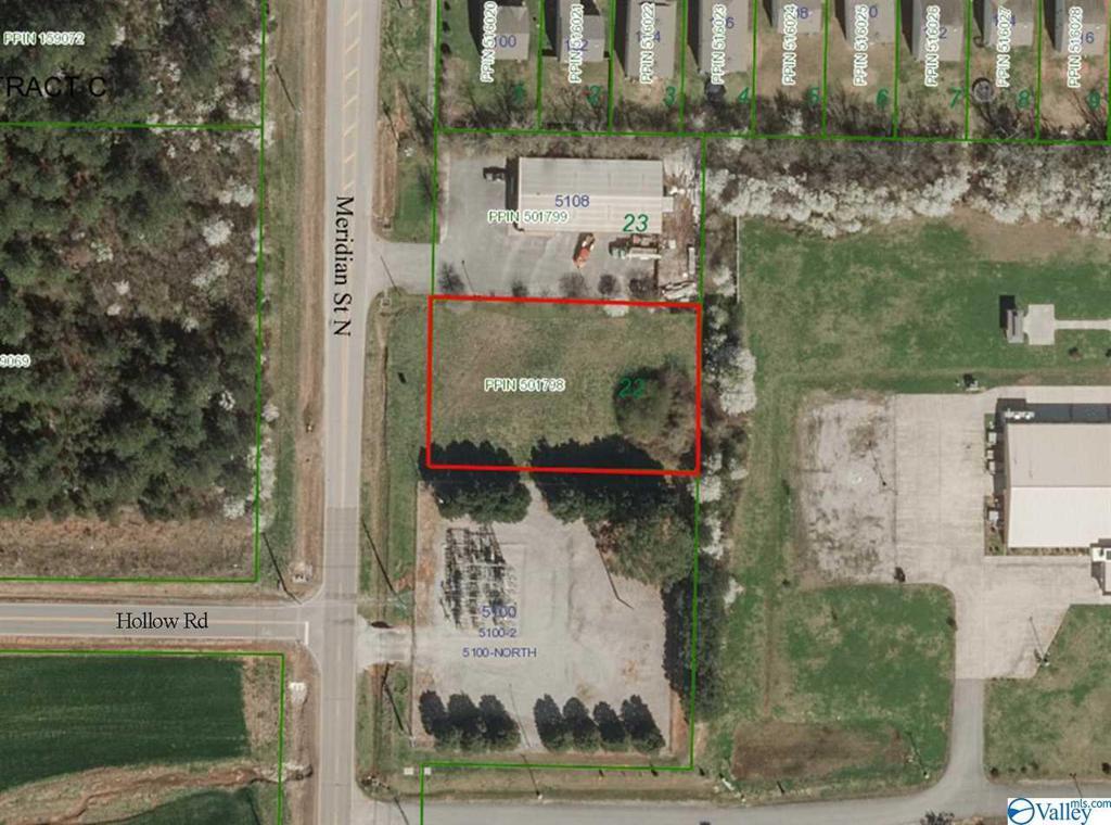 Photo of home for sale at 0 Meridian Street, Huntsville AL