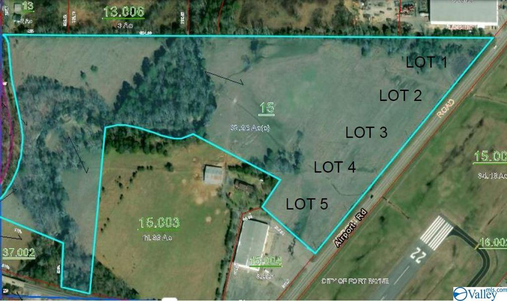 Photo of home for sale at Lot 5 Airport Road, Fort Payne AL