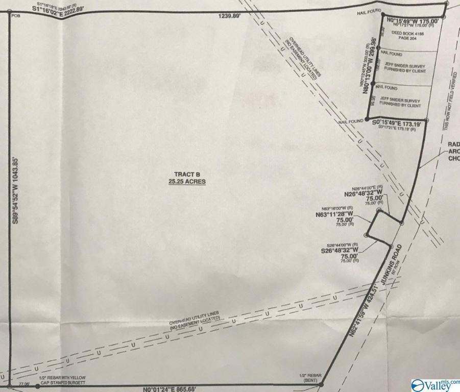 Photo of home for sale at 06 Junkins Road, Guntersville AL