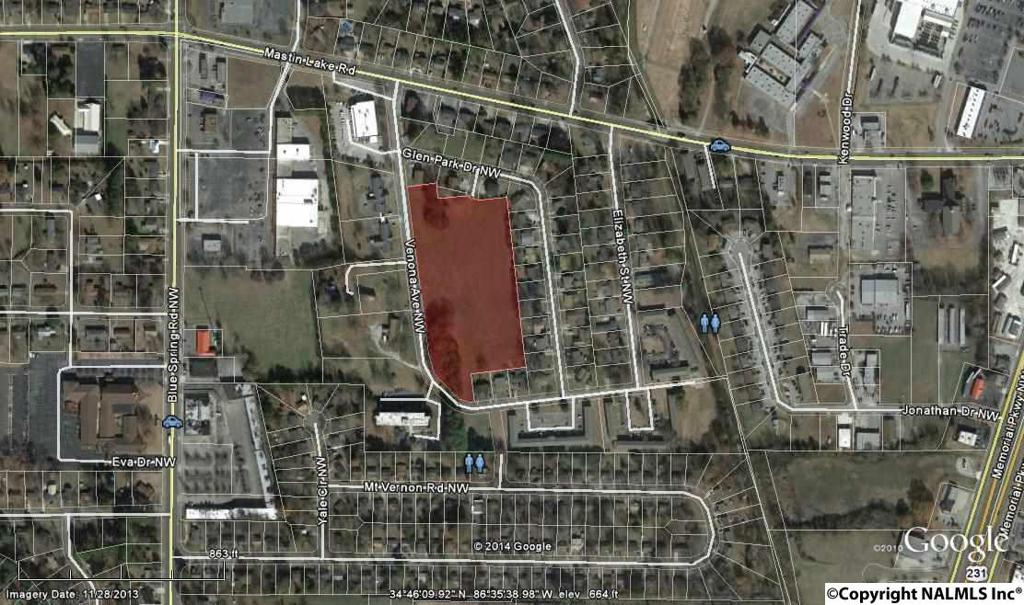 Photo of home for sale at 0 Venona Avenue, Huntsville AL