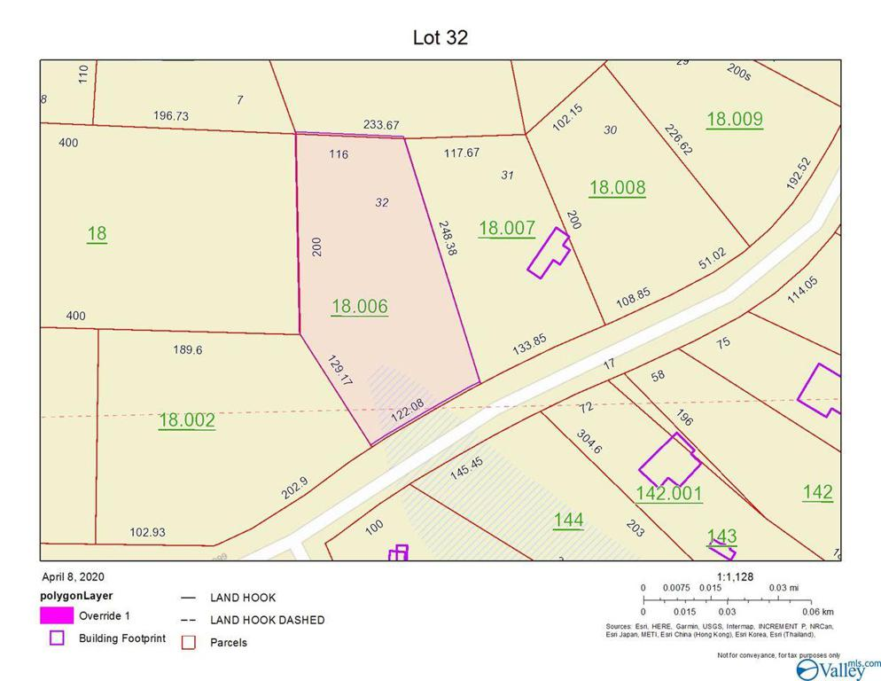Photo of home for sale at Lot 32 County Road 667, Cedar Bluff AL