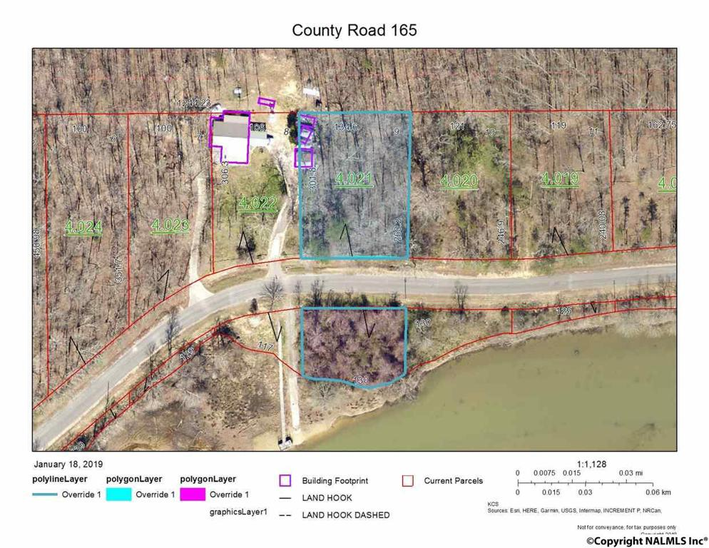 Photo of home for sale at Lot 9 County Road 165, Cedar Bluff AL