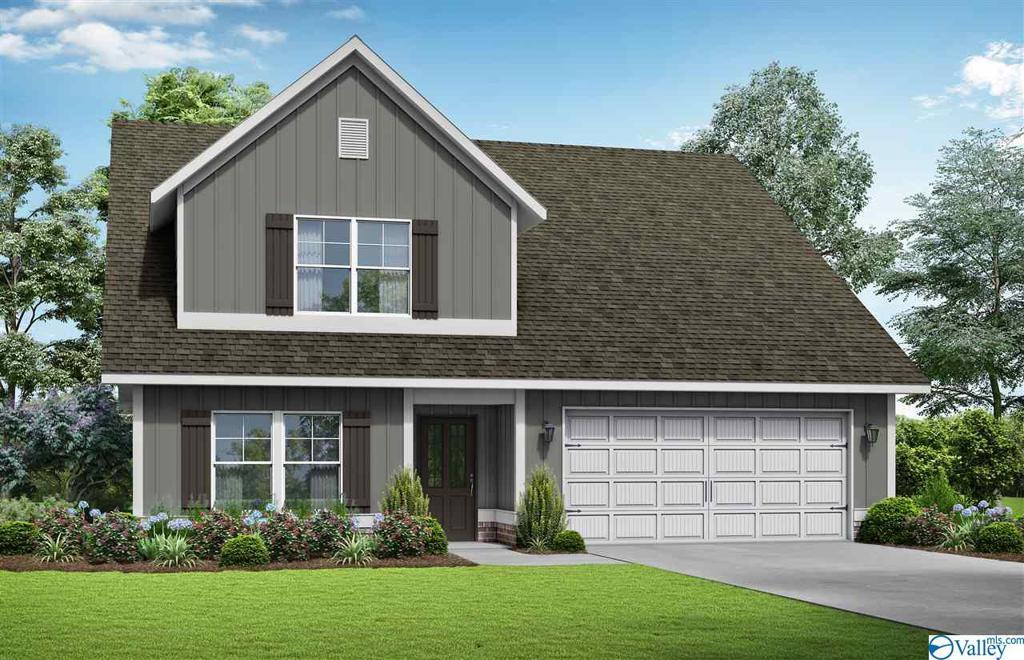 Photo of home for sale at 607 Southfield Lane, Huntsville AL