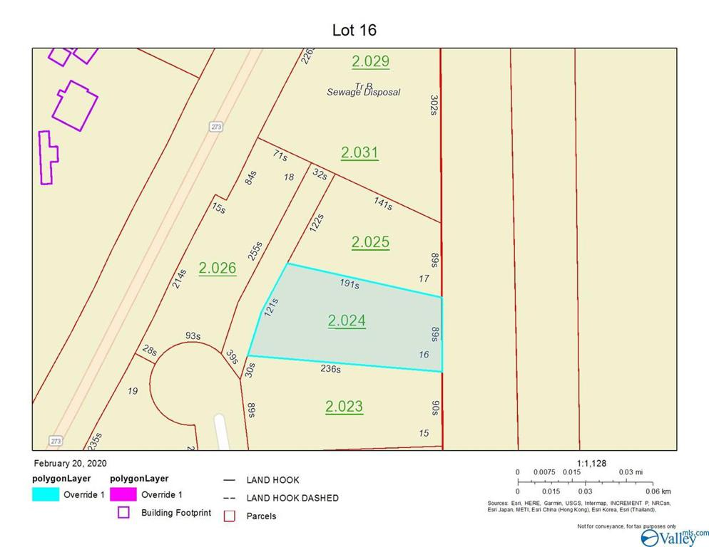 Photo of home for sale at Lot 16 Paradise Ridge Road, Leesburg AL