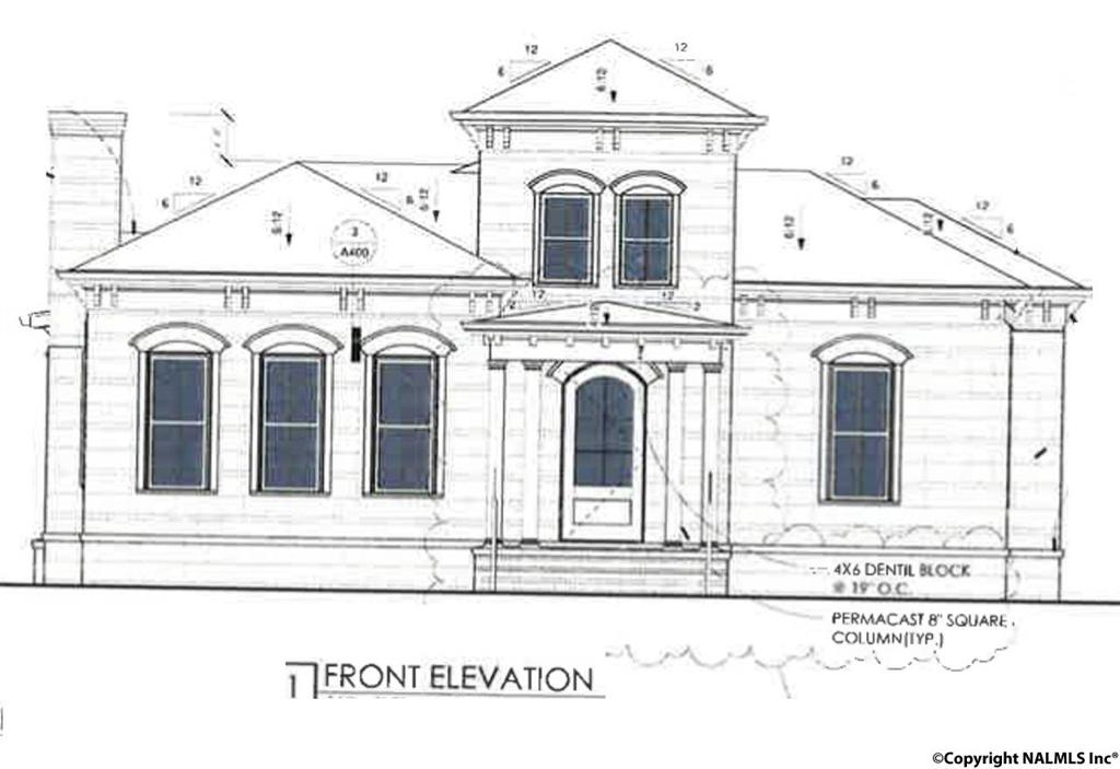 Photo of home for sale at 71 Hillcrest Avenue, Huntsville AL