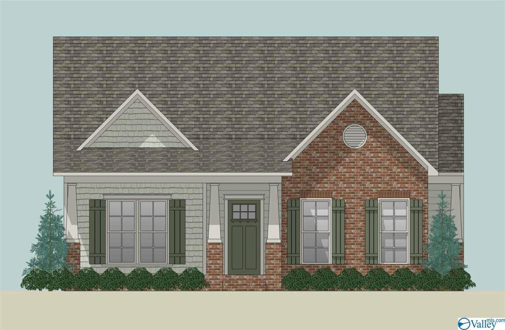 Photo of home for sale at 1167 Towne Creek Place, Huntsville AL