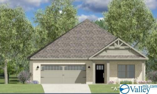 Photo of home for sale at 349 Shangrila Way, Meridianville AL