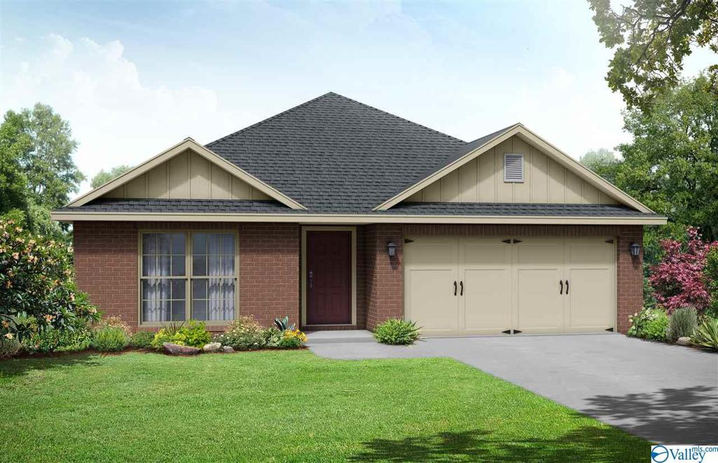 Photo of home for sale at 701 Magnolia Place Lane, Hartselle AL
