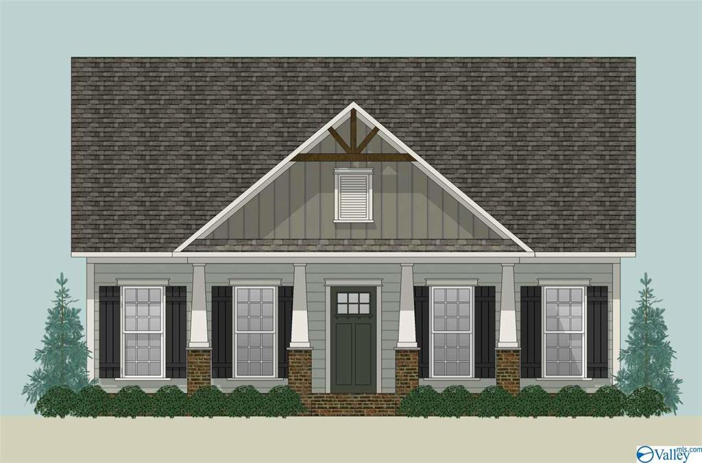 Photo of home for sale at 1118 Towne Creek Place, Huntsville AL