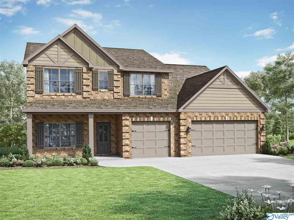 Photo of home for sale at 813 Chesire Cove Lane, Meridianville AL