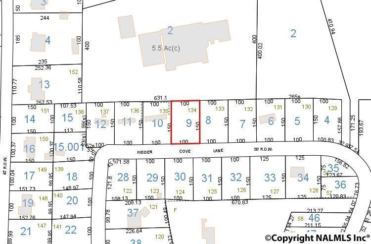 Photo of home for sale at Lot 134 Hidden Cove Lane, Cedar Bluff AL