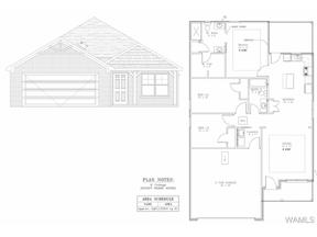 Property for sale at 6453 Cooperstown Cir LOT 87, Cottondale,  AL 35453